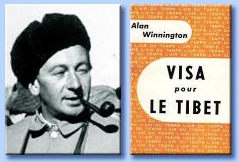 alan winnington - visa pour le tibet