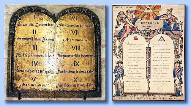 Che cos 39 la libert - Tavole dei dieci comandamenti ...