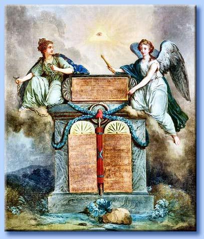 Il processo rivoluzionario dall 39 umanesimo all 39 apostasia - Tavole dei dieci comandamenti ...
