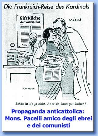 propaganda nazista anticattolica