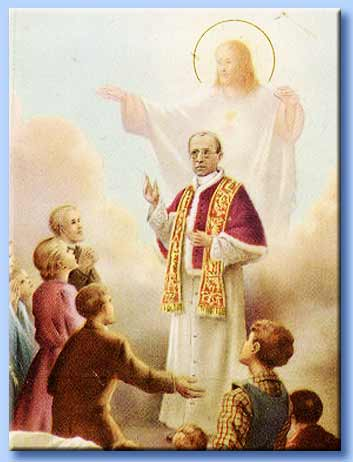 pio XII vicario di cristo in terra