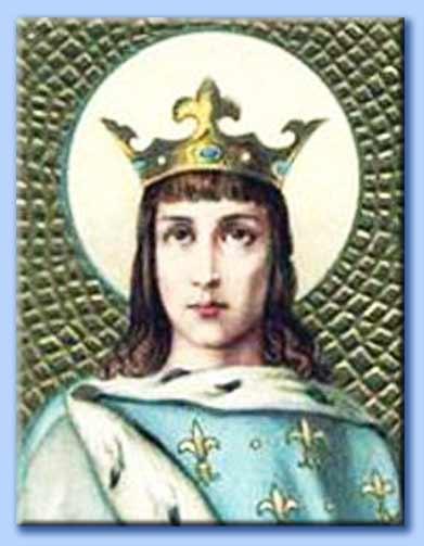 san luigi IX re di francia