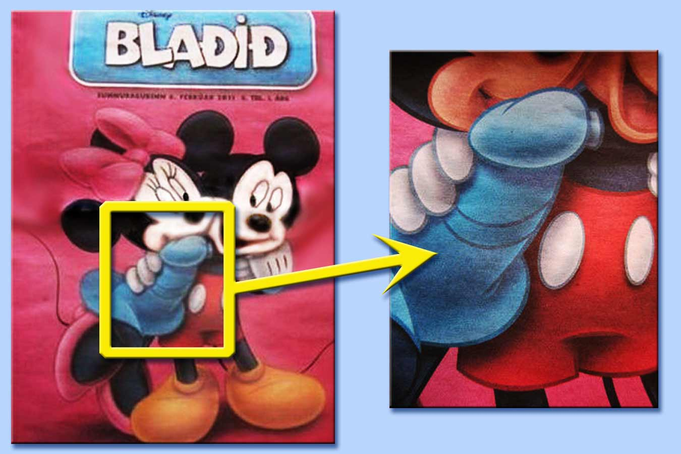 Topolino e minnie subliminale