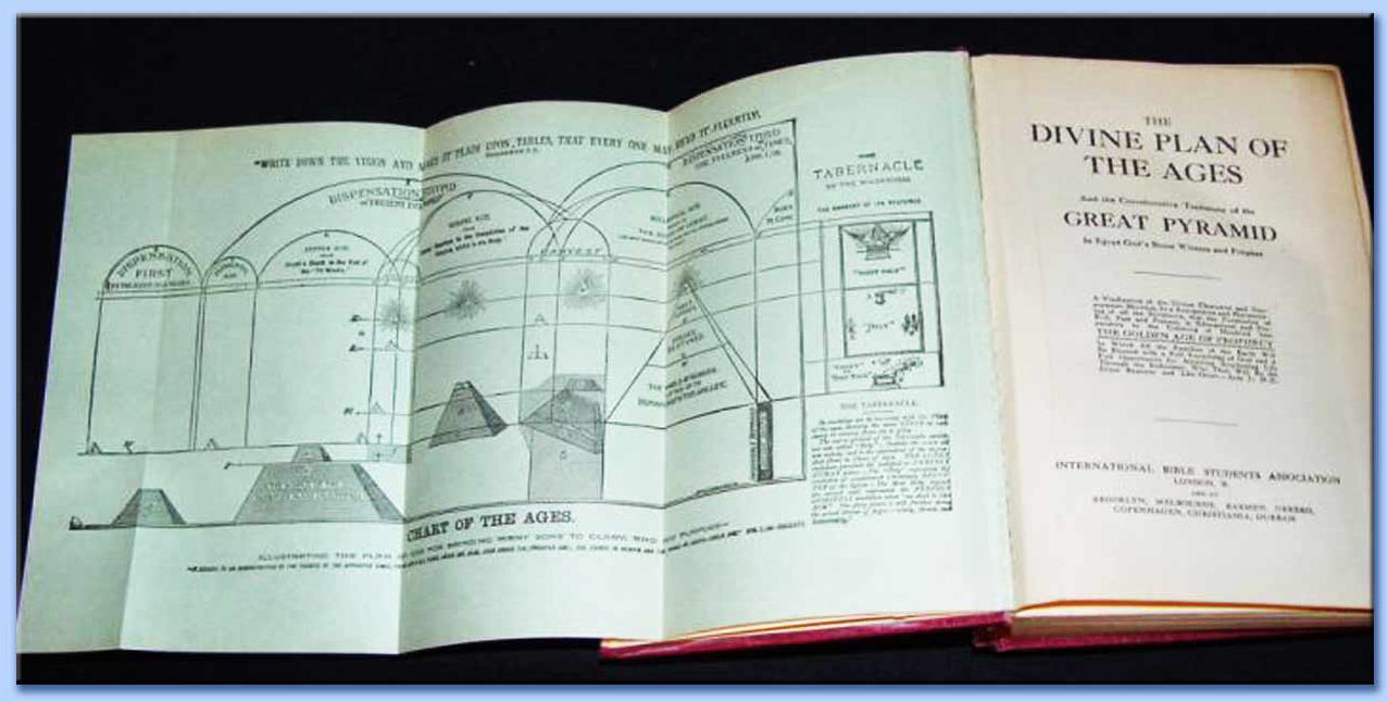 the divin plan of ages and the great pyramid - charles taze russell