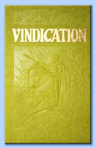 vindication - joseph franklin rutherford