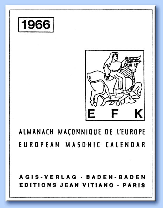 almanacco massonico d'europa