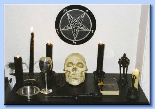 altare satanico