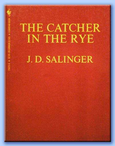 the catcher in the rye jerome david salinger