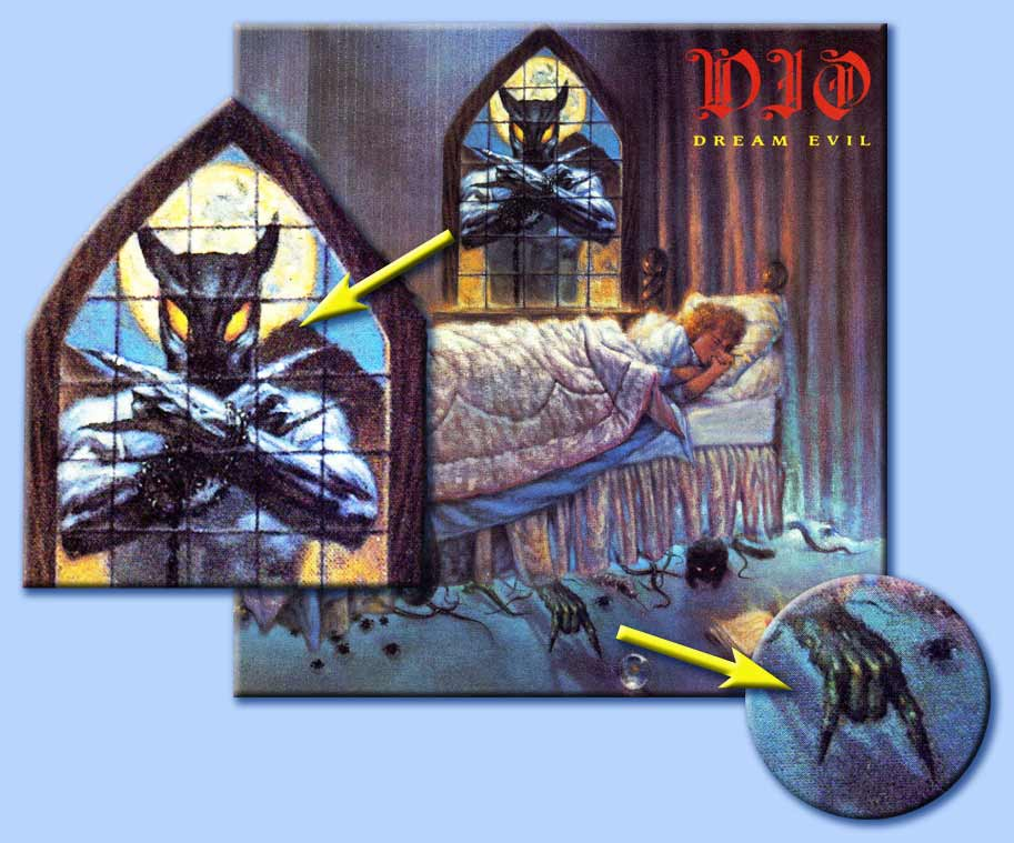 dio - dream evil - corna
