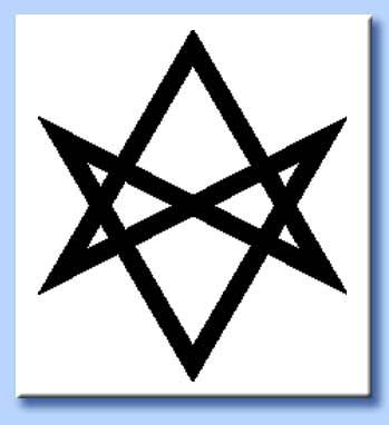esagramma unicursuale - thelema