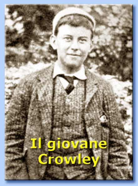 giovane aleister crowley