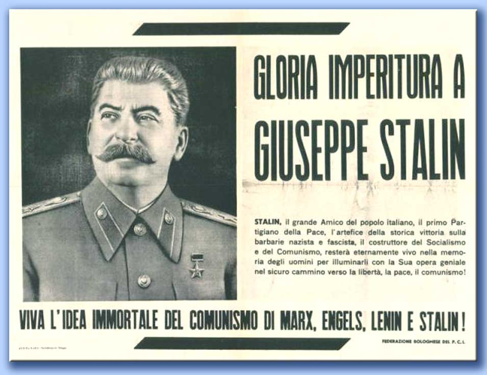 gloria imperitura a giuseppe stalin