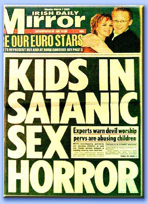 articolo su abusi satanici
