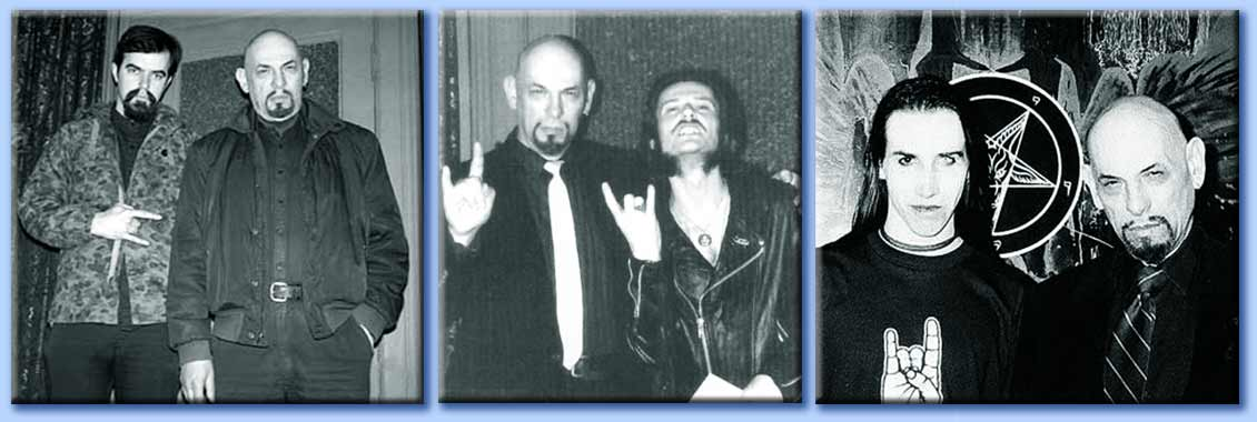 anton lavey - boyd rice - king diamond - marilyn manson