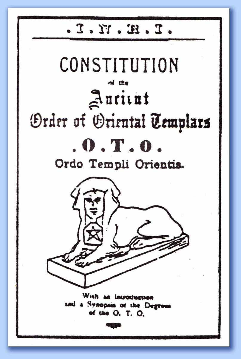 costituzioni ordo templi orientis