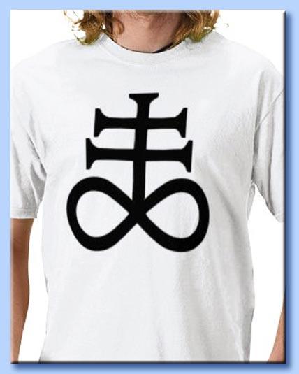 maglietta satanica