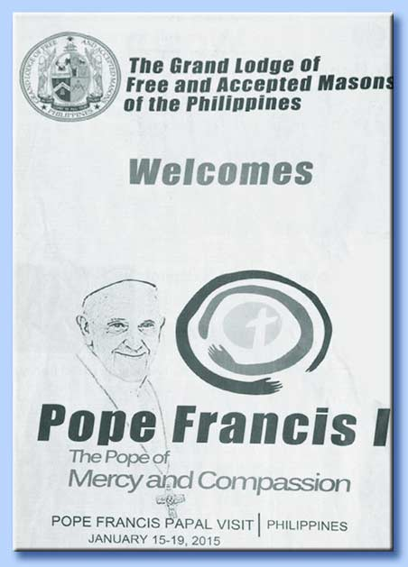 bergoglio - massoneria delle filippine