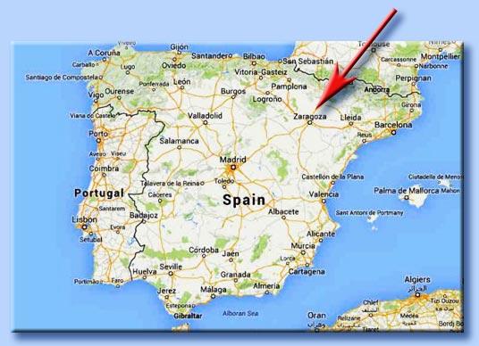 Cartina Spagna Saragozza.Un Chierichetto Martire