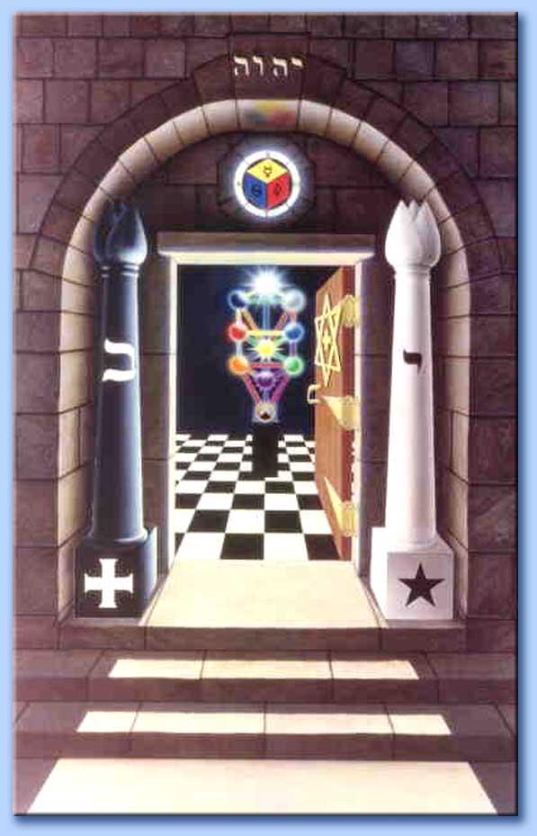 entrata della loggia - kabbalah
