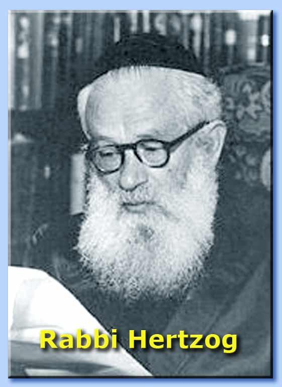 rabbi isaac hertzog