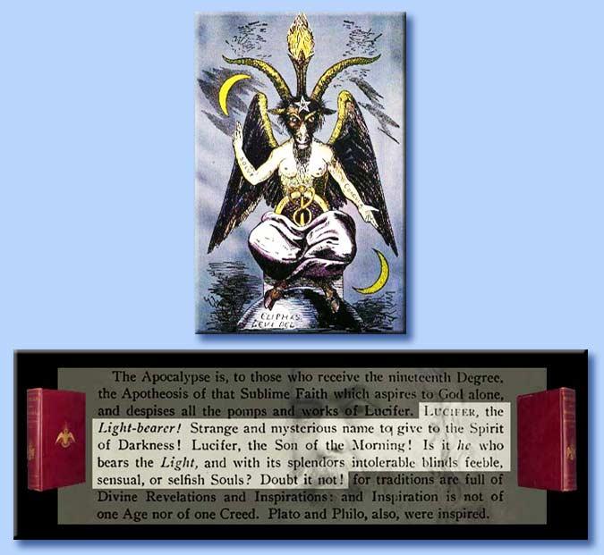 The Light Bearer Lucifer: Le Radici Massoniche Dell'occultismo Moderno