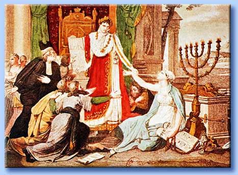 napoleone ristabilisce il culto ebraico