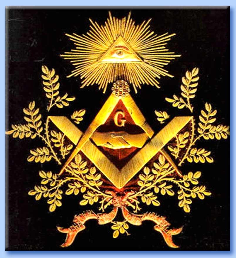 Simbolo, massoneria, occhio che tutto vede, piramide