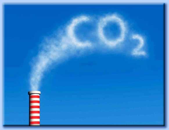 anidride carbonica co2 antropica