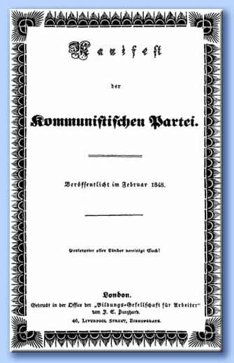 il manifesto del partito comunista originale