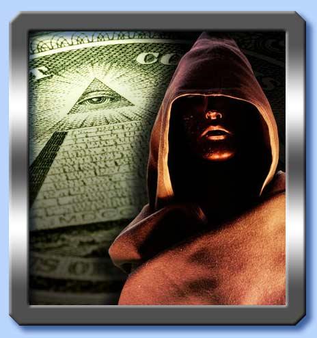 l'occhio sopra la piramide