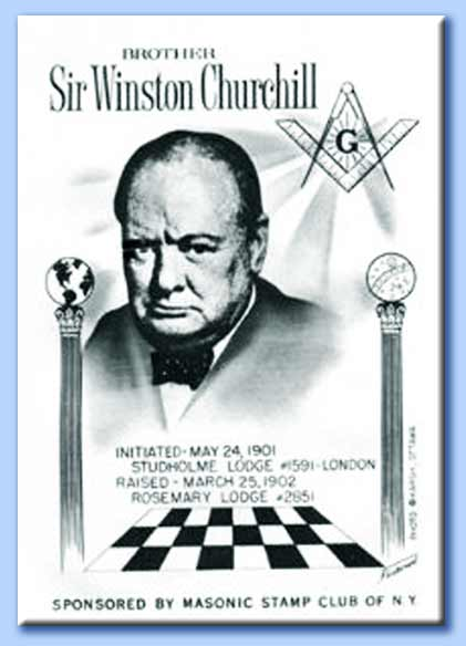 winston churchill massone