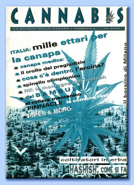 la rivista cannabis