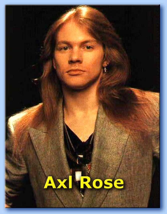 foto axl roses: