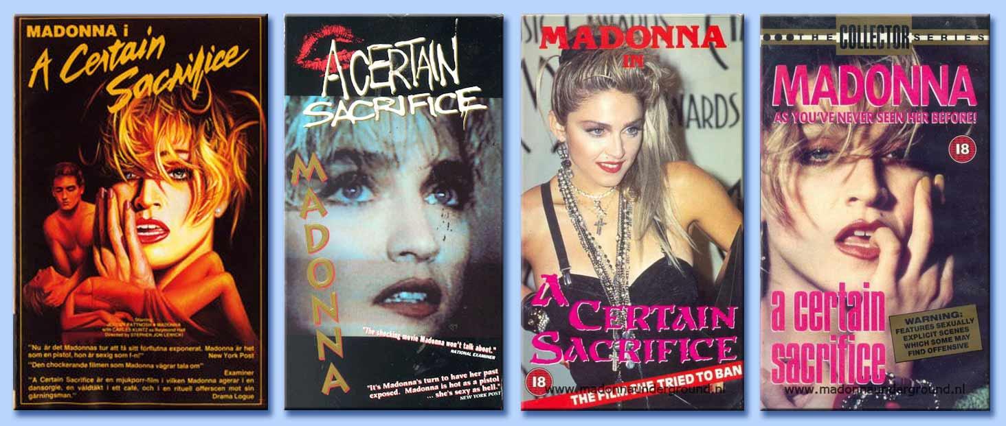 Madonna - physical attraction (a certain sacrifice)