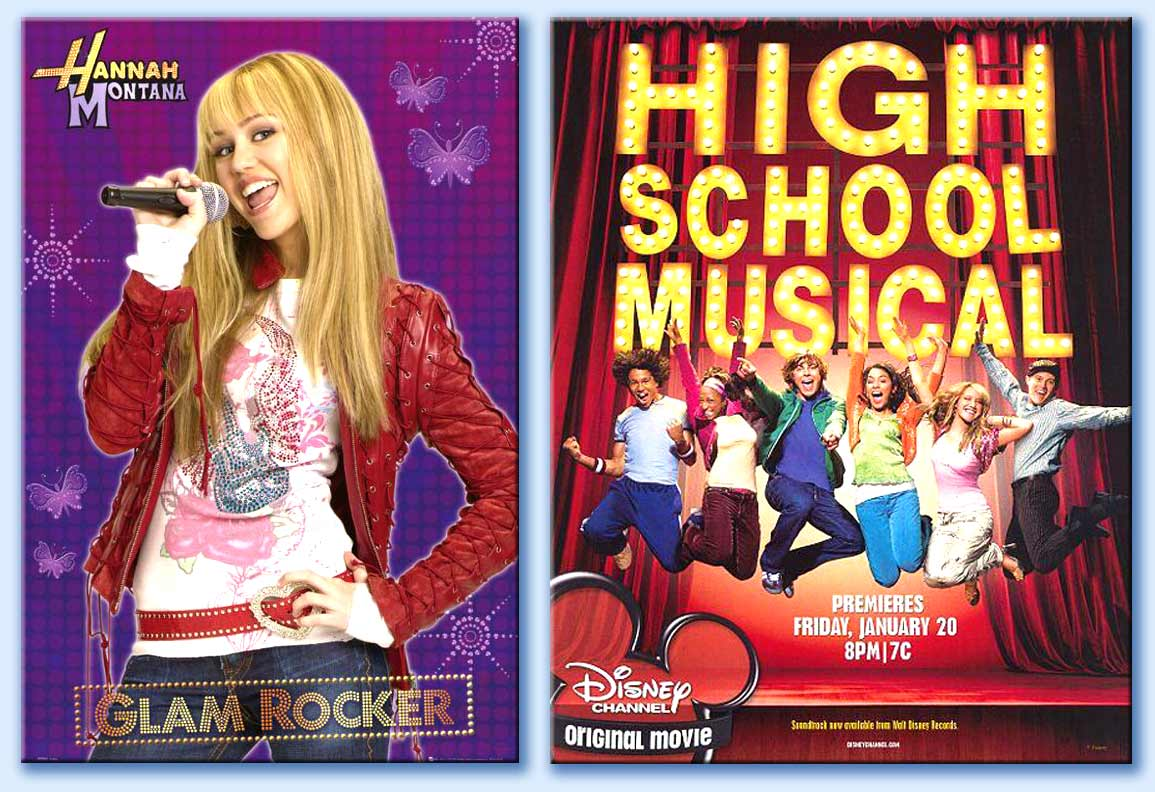 Hannah montana - high school musical
