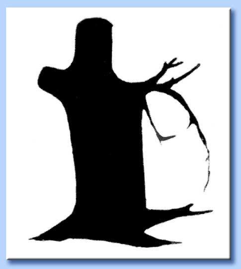 illusione ottica - albero