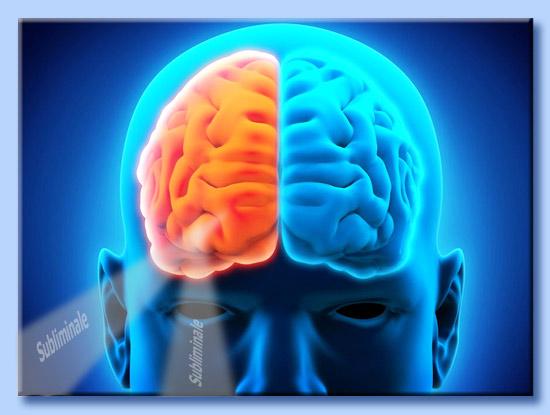 l'emisfero destro è influenzabile