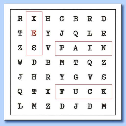 quadrante lettere