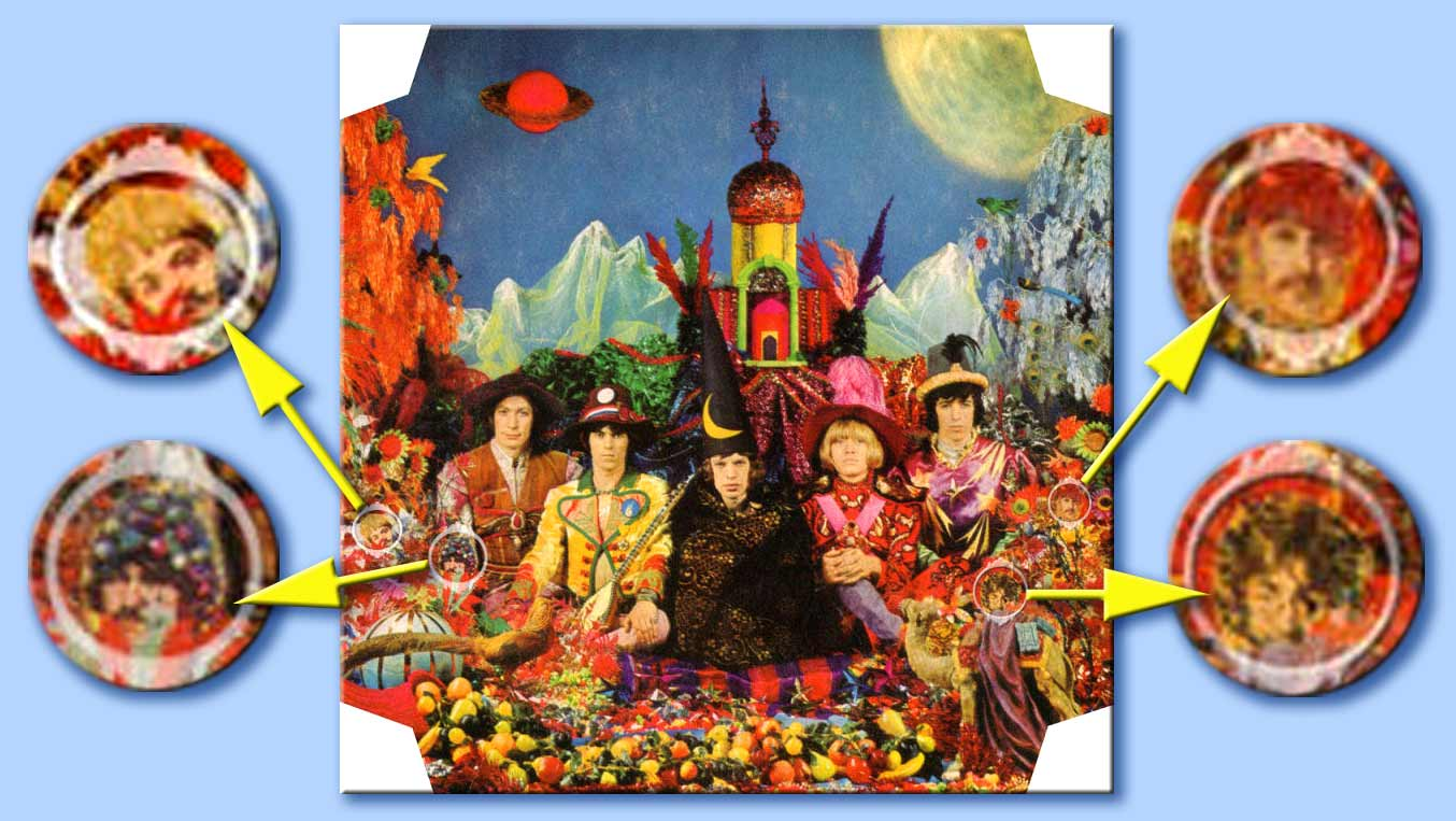 their satanic majesties request - beatles