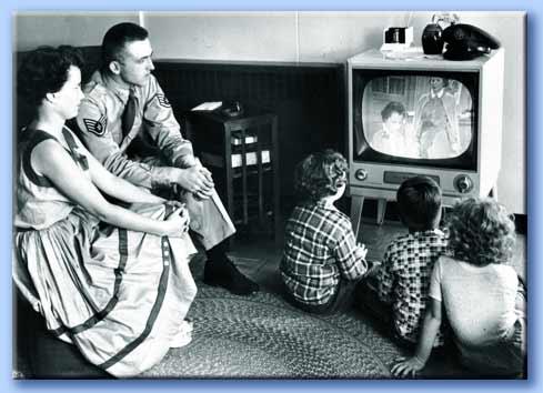 televisione in famiglia